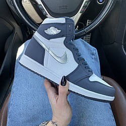 Air Jordan 1 Mid Midnight Navy Кроссовки | кеды | обувь | тапки