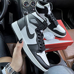 Air Jordan 1 Mid Black White Кроссовки | кеды | обувь | тапки