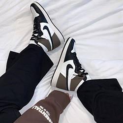 Air Jordan 1 Mid Dark Mocha Кроссовки | кеды | обувь | тапки