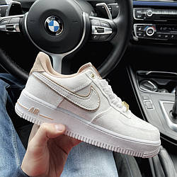 Air Force 1 Low 07 Lux White Beige Кроссовки | кеды | обувь | тапки