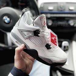 Air Jordan 4 White Cement Кроссовки | кеды | обувь | тапки