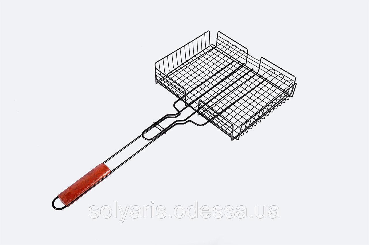 Решетка для мангала. Гриля. 35х28х6 Сетка для гриля