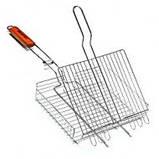 Решетка для мангала. Гриля. 35х28х6 Сетка для гриля, фото 4