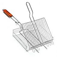 Решетка для мангала. Гриля. 44х34х6 Сетка для гриля. Решетка для шашлыка