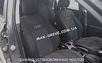 Чехлы на сиденья Авто чехлы AUDI A4 (B5) 1994-2000 з с 2 3 подл 4 подг бочки п подл airbag Nika ауди а4 б5