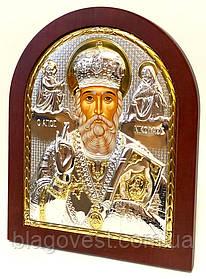 Икона св. Николай 145х180мм ek4-009 (17.42) К