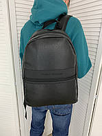 Мужской городской рюкзак портфель Tommy Hilfiger Томми Хилфигер спортивный черный