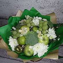 Фруктовий букет подарунковий вітальний для жінки яблуневий букет