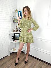 Платье женское ,  светлый хаки