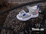 Шкіряні сандалії для хлопчика Tom.m 9135E, 21-26 розміри., фото 2