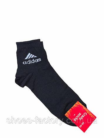 Мужские носки черные Adidas , Black, фото 2