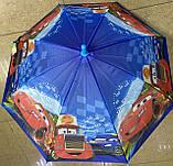 Зонты для мальчиков  полуавтомат трость на 8 спиц плотный купол, фото 2