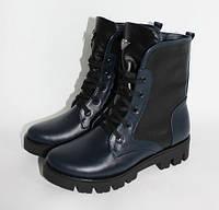 Женские ботинки из натуральной кожи, фото 1