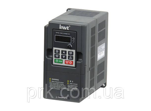 Преобразователь частоты (инверторы) INVT GD10-0R4G-S2