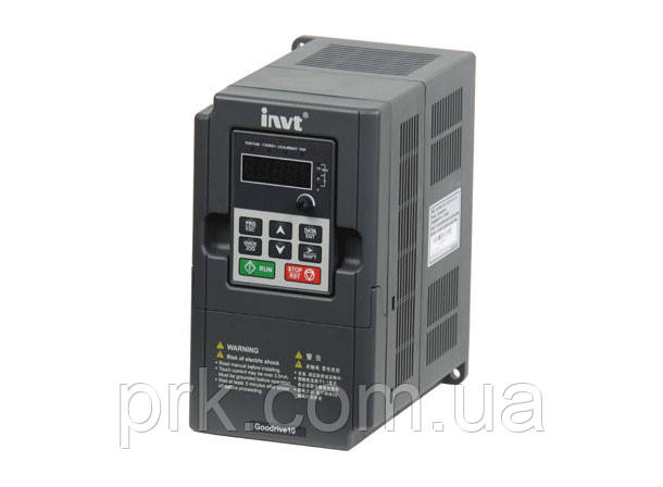 Преобразователь частоты (инверторы) INVT GD10-2R2G-S2