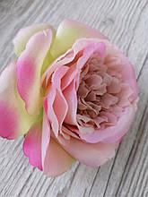 Троянди Девіда Остіна (піоновидна) з тканини - 9 див. Рожева