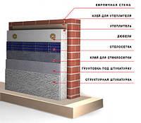 Утепление фасада с декоративной отделкой, фото 1