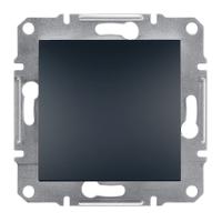 Выключатель одноклавишный Schneider Electric Asfora Asfora Антрацит EPH0100171