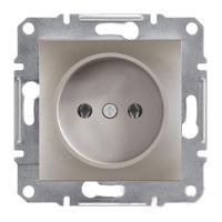 Розетка без заземления Schneider Electric Asfora Бронза EPH3000169