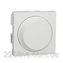 Wiser Універсальний поворотний Димер LED ламп білий UNICA NEW NU351618