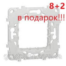 АКЦИЯ!!! (8+2 В ПОДАРОК) Супорт пластиковий 2 модуля, (NU7002P*10)