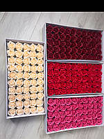 Мильна роза, роза з мила, троянди для букетів з мильних троянд, фото 1