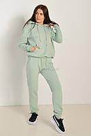 Женский спортивный костюм / трикотаж петля / размеры: S,M,L,XL,XXL- мятный