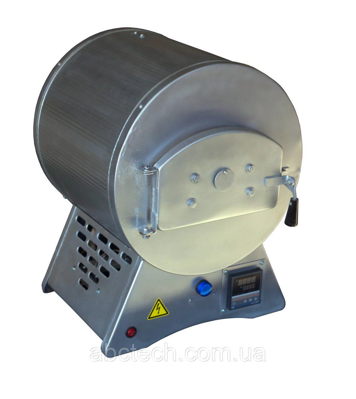 Лабораторная муфельная печь для определения зольности пеллеты, зольности муки