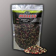 Пелети прикормочный Pellets Start Mix (3-4-6mm) 1kg
