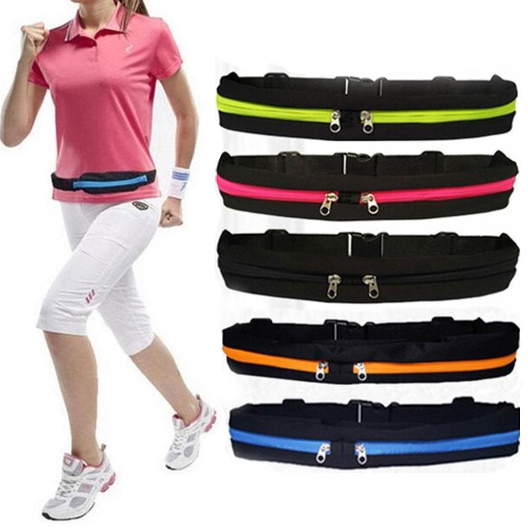 Спортивна Сумка на пояс для бігу Go Runners Pocket Belt / Поясна сумка для спорту (27х10 см, 17х10)