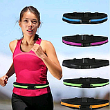 Спортивна Сумка на пояс для бігу Go Runners Pocket Belt / Поясна сумка для спорту (27х10 см, 17х10), фото 2