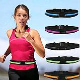 Сумка ремень для бега и спорта / Поясная сумка для спорта (27х10 см, 17х10), фото 2