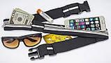 Сумка ремень для бега и спорта / Поясная сумка для спорта (27х10 см, 17х10), фото 4
