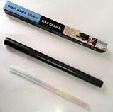 Самоклеюча дошка для малювання крейдою стікер, чорна, 200х60 см, 5шт крейди у комплекті, фото 7