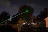 Лазерна Указка Green Laser Pointer потужна, зелений світло. Батарейки в комплекті, фото 9