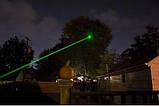 Зелена лазерна указка Green Laser Pointer з чохлом + батарейки, фото 9