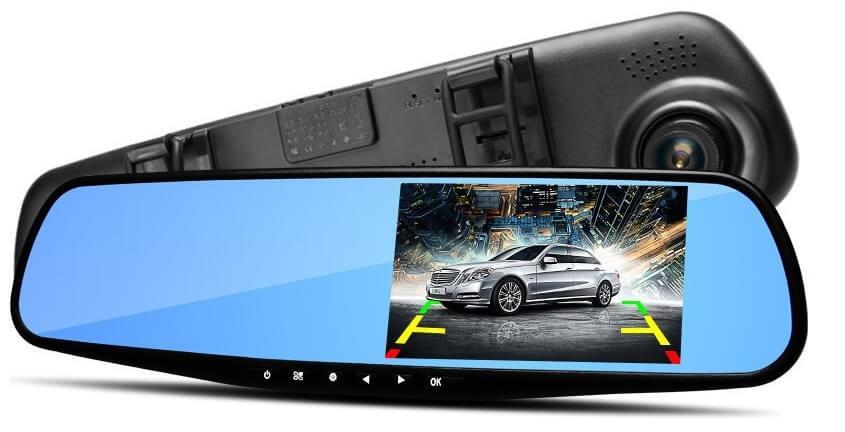 Видеорегистратор-зеркало Car DVR 138E 3,8 с одной камерой