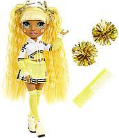Лялька Санні Медісон Мосту Хай вболівальниця Rainbow High Cheer Sunny Madison Cheerleader
