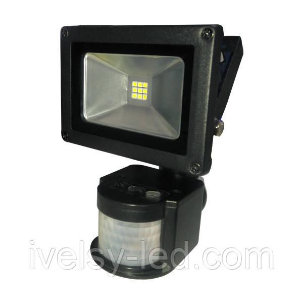 Прожектор светодиодный Electrum LITEJET-10S С ИКД 10W 6500К
