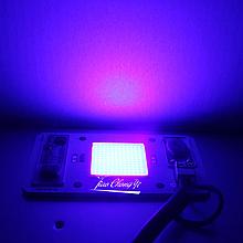 УФ Светодиод 50 ватт 220 вольт 395 нм ультрафиолетовый 50W 220V 395nm UV