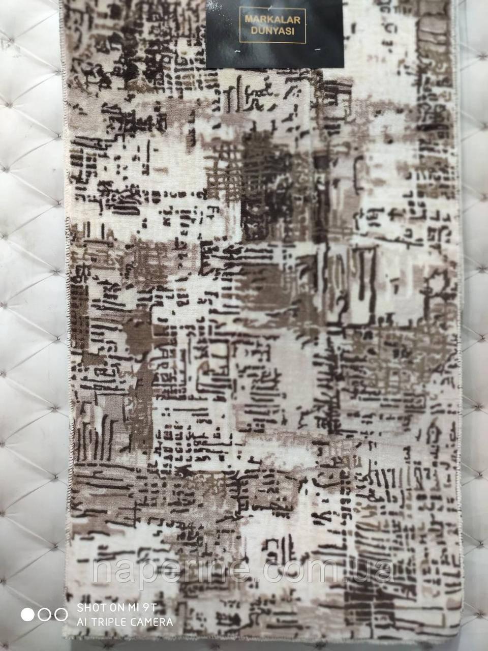 Набор ковриков для ванной комнаты 2 предмета MARKALAR прорезиненные Турция лучшая цена