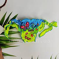 Дитячі купальні плавки для дівчинки з метеликом р S-L