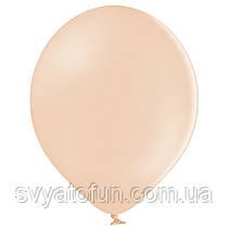 """Латексные шарики 10,5"""" макарун В85/453 персиковый 50шт/уп BelBal"""