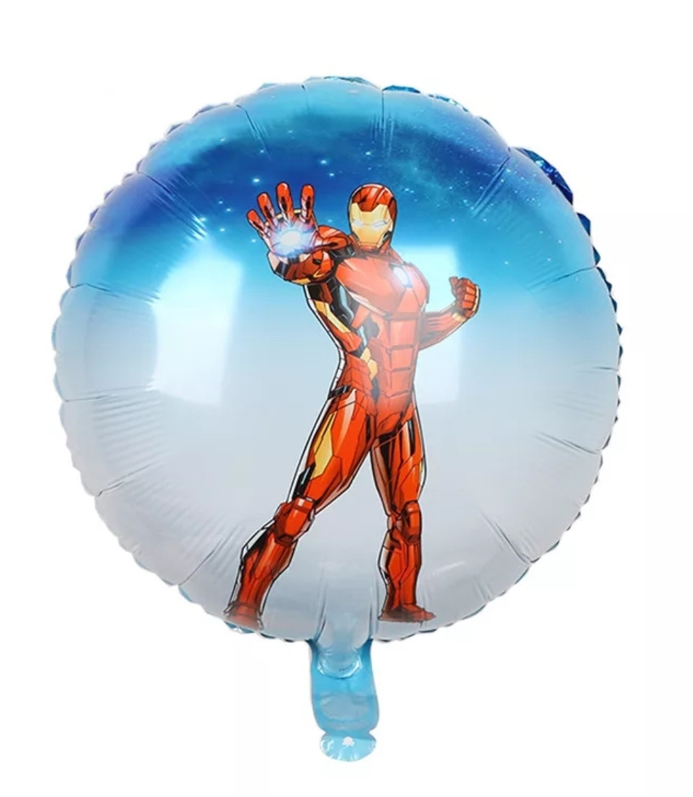 Фольгований повітряна куля The Avengers залізна людина 45 см