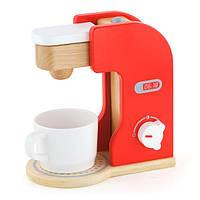 Игрушечная кофеварка Viga Toys из дерева (50234FSC)