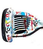 Гироборд Smart Balance 10,5 дюймов Хип хоп белый самобаланс   гироскутер детский Смарт Баланс 10,5 до 120 кг, фото 4