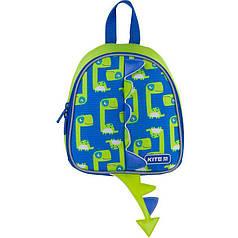 Рюкзак детский Kite Kids Dino K21-538XXS-2, синий, зеленый