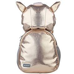 Рюкзак детский Kite Kids Pink Cutie K21-567XS-1, розовый, золотой