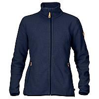 Куртка флисовая женская Fjallraven Stina Fleece Dark Navy, M