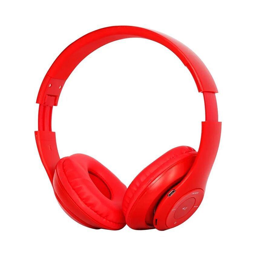 Бездротові навушники bluetooth Tm-047 red